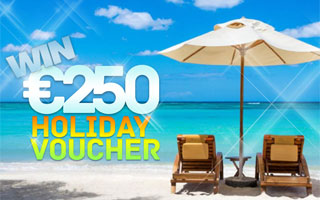 Win €250 Holiday Voucher