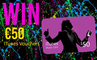 Win €50 iTunes Vouchers