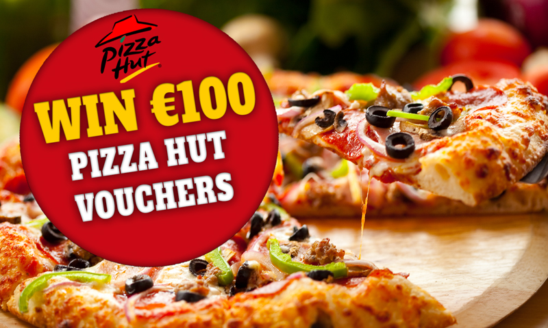 Win €100 Pizza Hut Vouchers