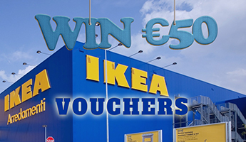 Win €50 IKEA Vouchers