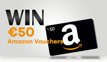 Win €50 Amazon Vouchers