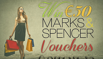 Win €50 M&S Vouchers