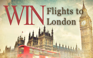 Win Flights to London