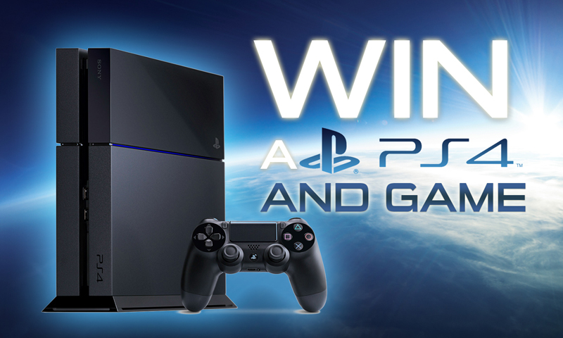 Win a Playstation 4 and Game