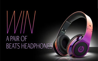 Win a Pair of Beats by Dre headphones