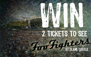 Win Slane Castle Foo Fighters tickets