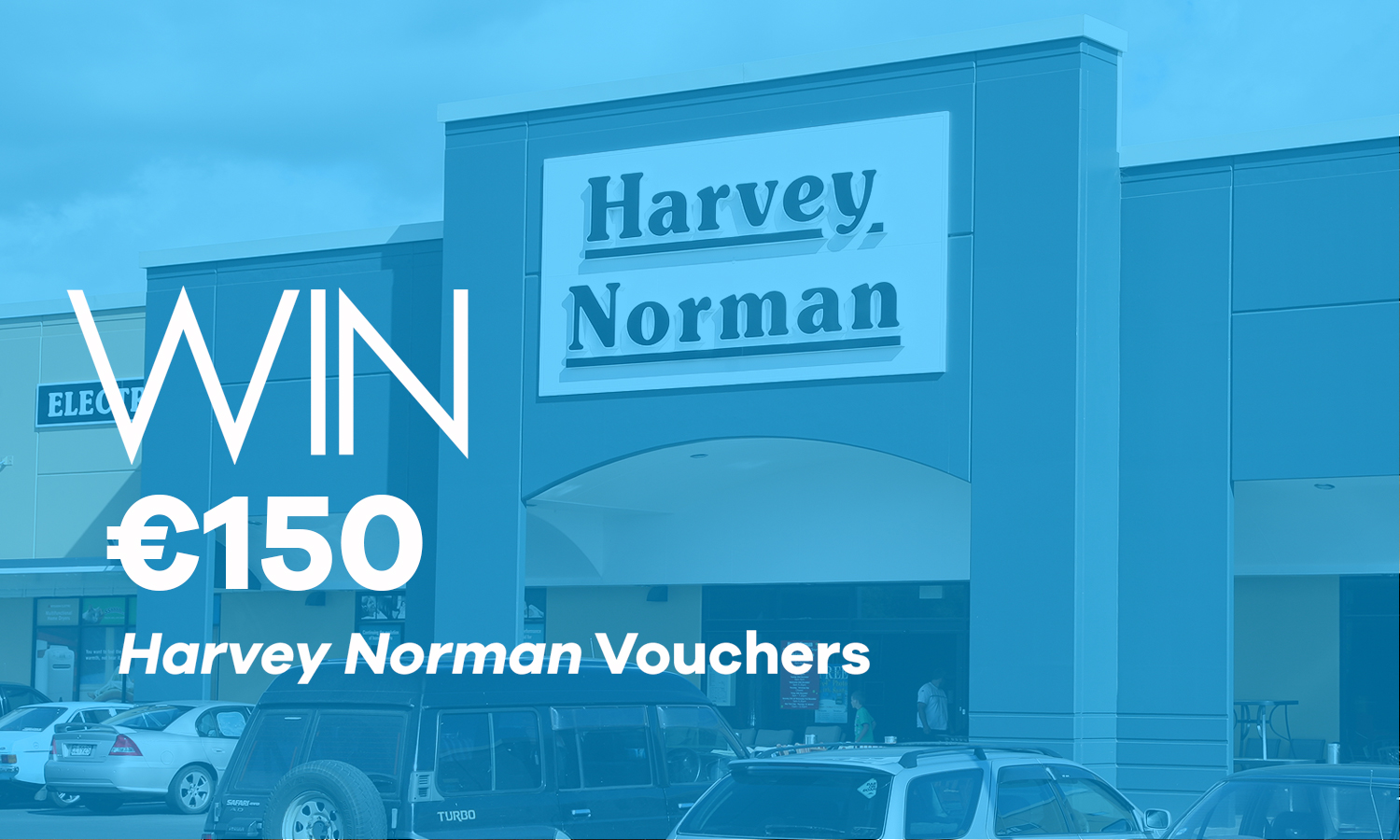 win 150 harvey norman vouchers free competitions. Black Bedroom Furniture Sets. Home Design Ideas