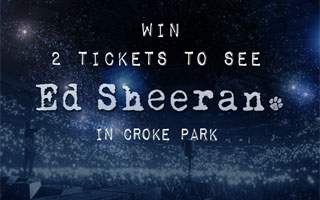 Win Ed Sheeran Tickets