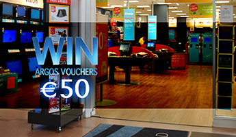 Win €50 Argos Vouchers