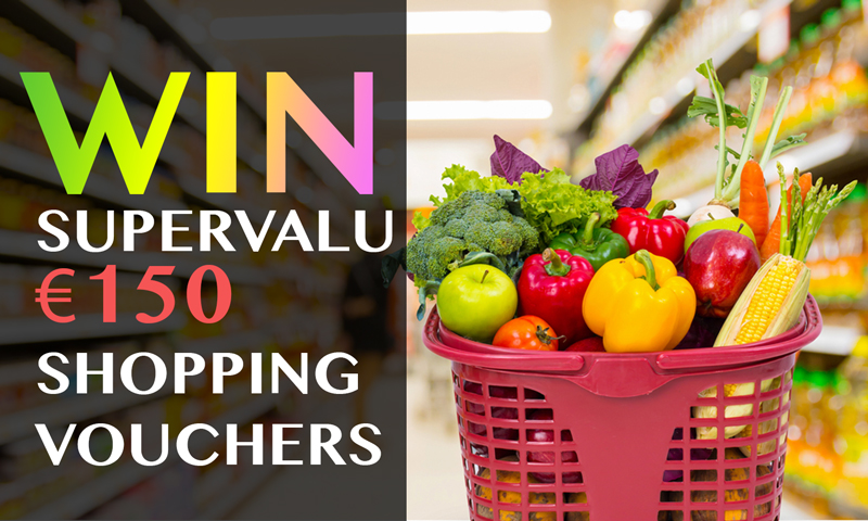 Win €150 SuperValu Vouchers