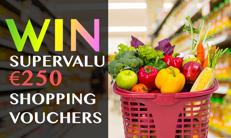Win €250 SUPERVALU Vouchers