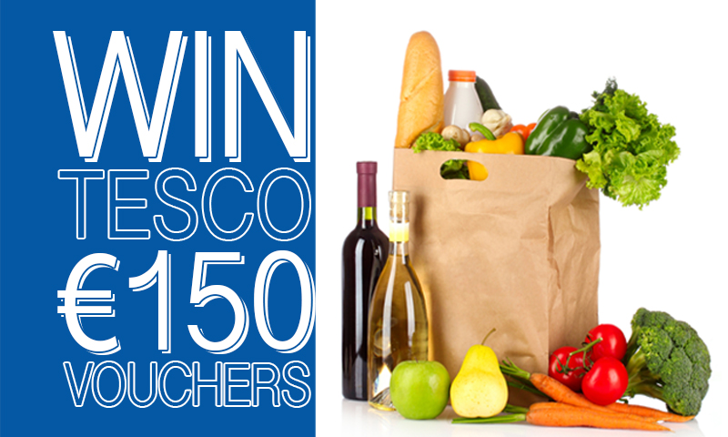 Win €150 Tesco Vouchers