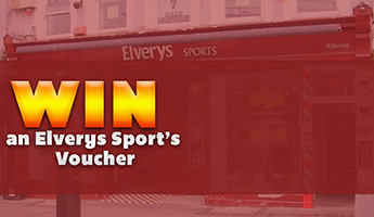 Win an Elverys Sport's Voucher