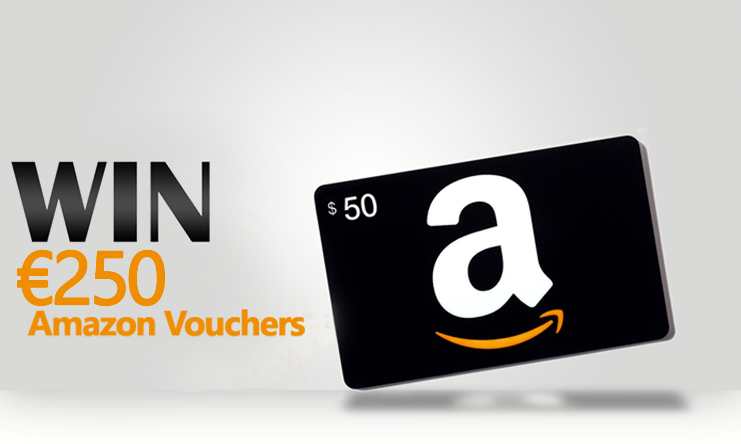 Win €250 Amazon Vouchers