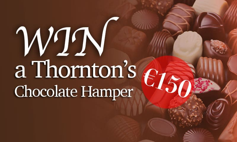 Win A €100 Thorntons Chocolate Hamper